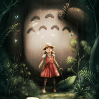 My Neighbor Totoro by Ana Mendes