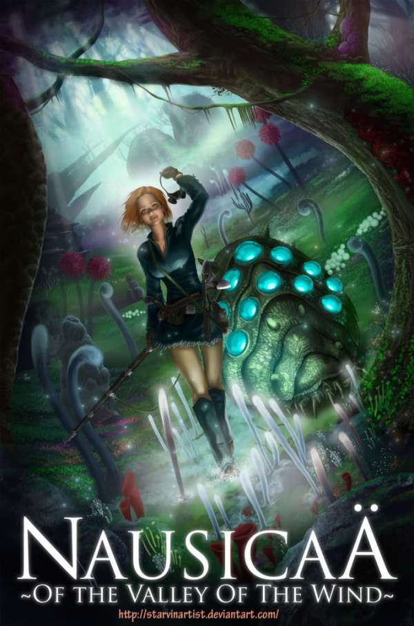 Nausicaa of the Valley of the Wind by starvinartist - Miyazaki Art