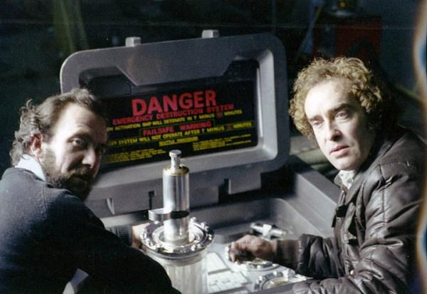 Pat Lowry - Roger Nichols and Ian Wingrove working on the self destruct module