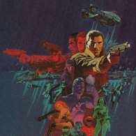 Blade Runner Cover Art by Jim Steranko