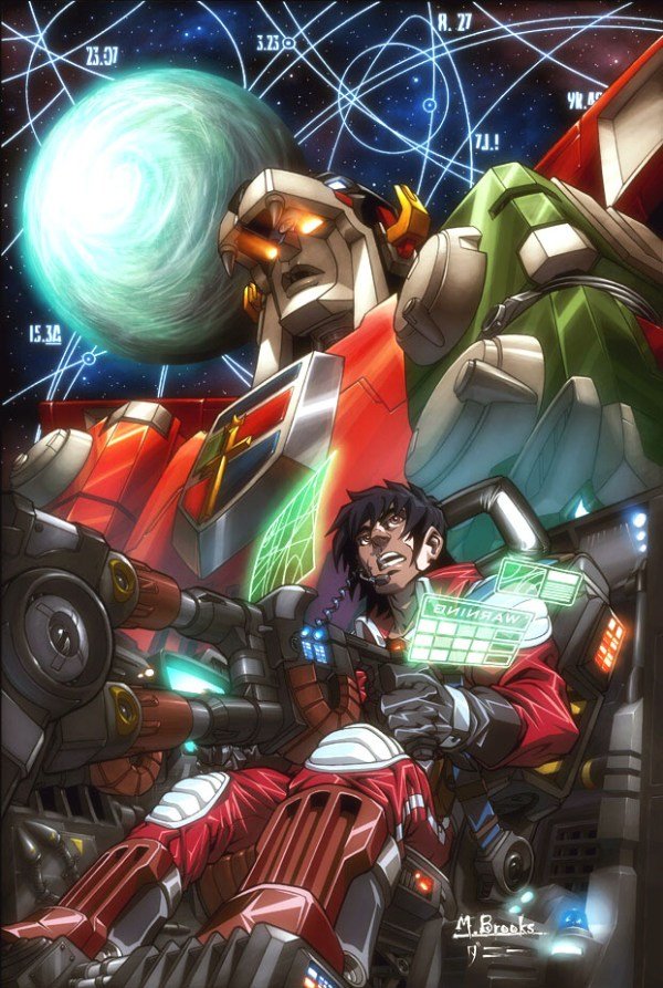 Voltron by Mark Brooks
