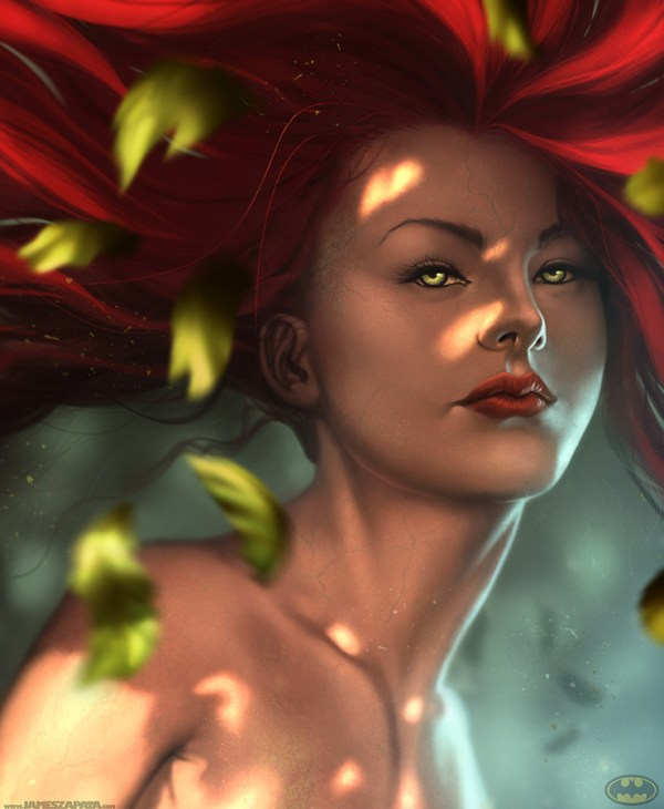 Poison Ivy by James Zapata - Batman fan art