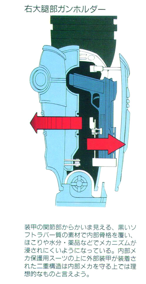 Japanese RoboCop Gun Blueprints