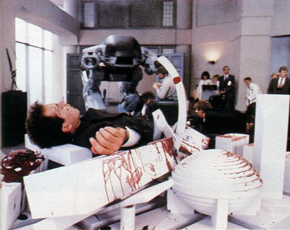 RoboCop Behind the Scenes Photo - ED-209