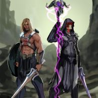 He-Man and Skeletor by Stjepan Sejic