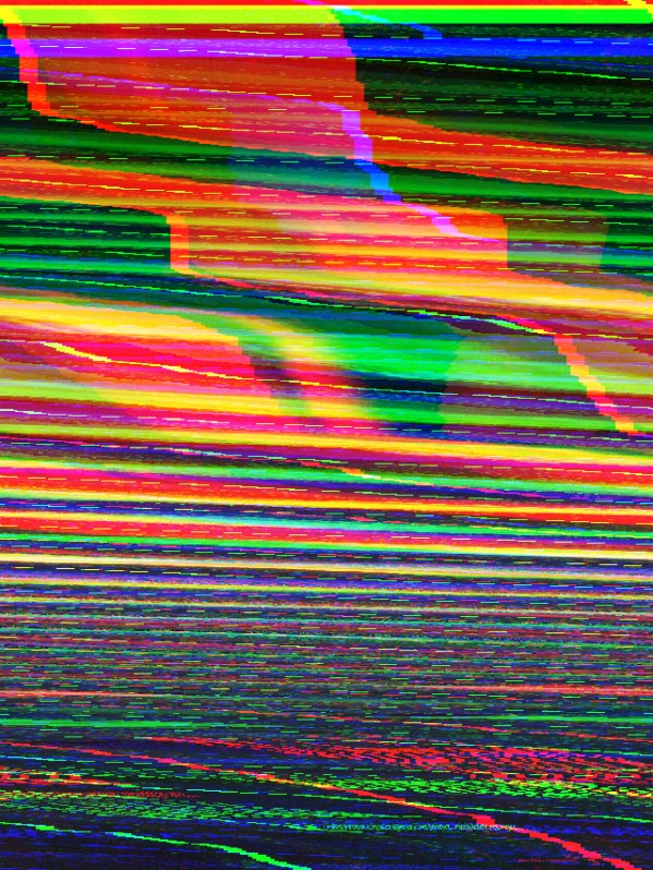 glitch art: databending with hex editor