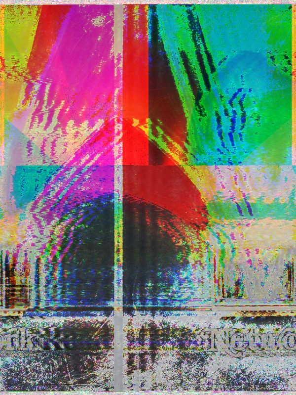 glitch art: databending with audacity time scale / pitch shift
