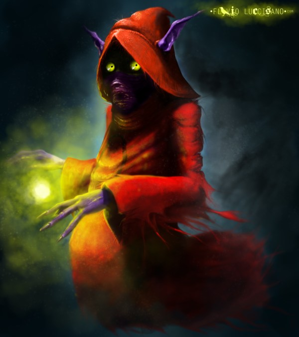 Masters of the Univererse: Orko by Flavio Luccisano - He-Man