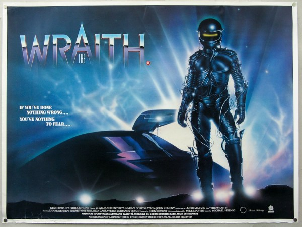 The Wraith (1986) Poster