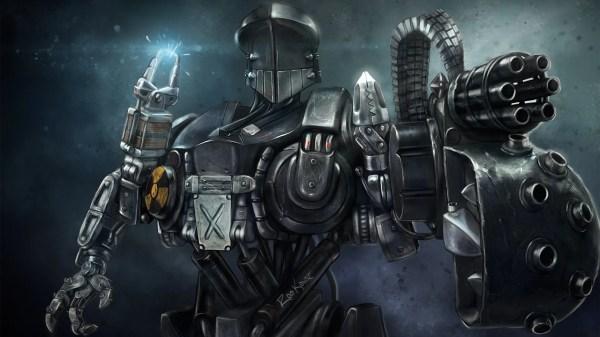 Robocain - Robocop 2 Fan Art by Ros Kovac - Wallpaper
