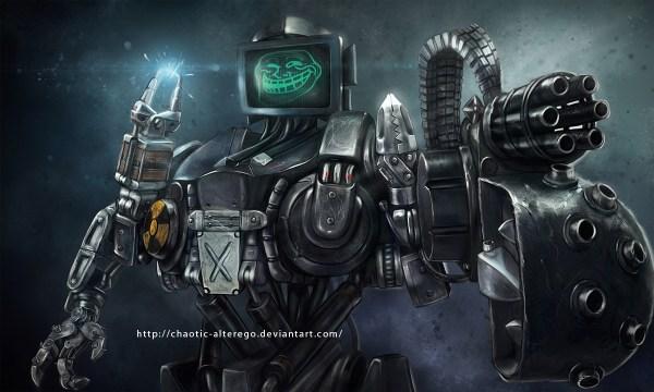 Robocain - Trollface Version