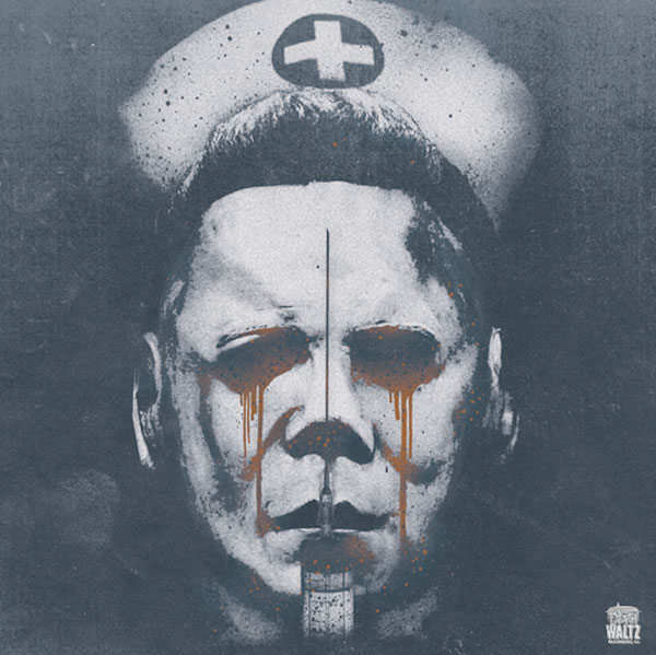 halloween II vinyl soundtrack album artwork by Brandon Schaefer - Death Waltz Recording Company