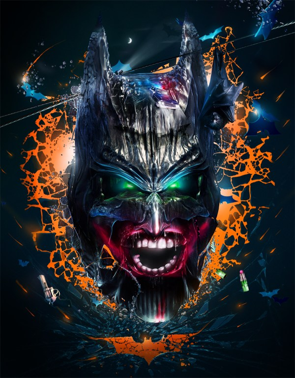 Wayne's Demon: The Dark night of the Dark Knight by Adam Spizak - Batman Fanart