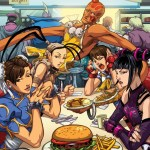 Street Fighter 25th Anniversary Diner by Edwin Huang