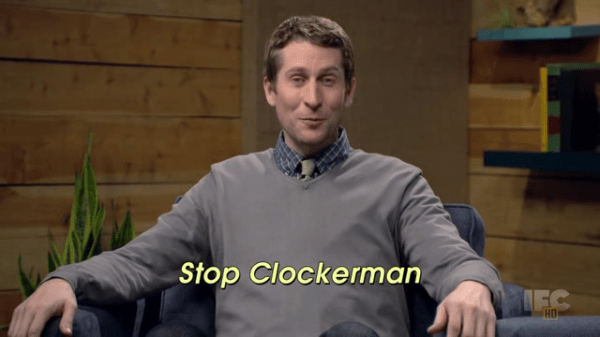 Comedy Bang Bang - Scott Aukerman - Stop Clockerman