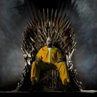 Walter White on the Iron Throne Wallpaper [Breaking Bad x Game of Thrones]