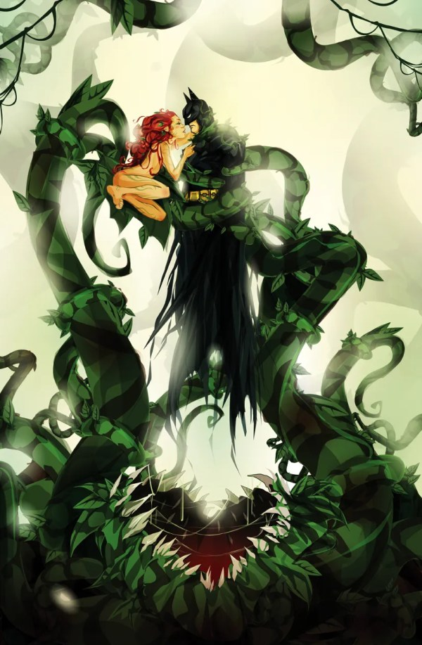 Poison Ivy & Batman: One Last Kiss by ChasingArtwork - DC Comics, Fanart, Comic Books