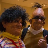 Creepy Realistic Bert and Ernie Cosplay