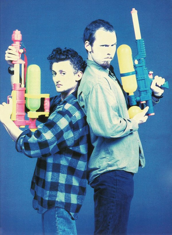 Alex Winter and Tom Stern - Freaked (1993) Promotional Photo