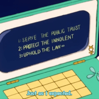 RoboCop Reference on Sailor Moon