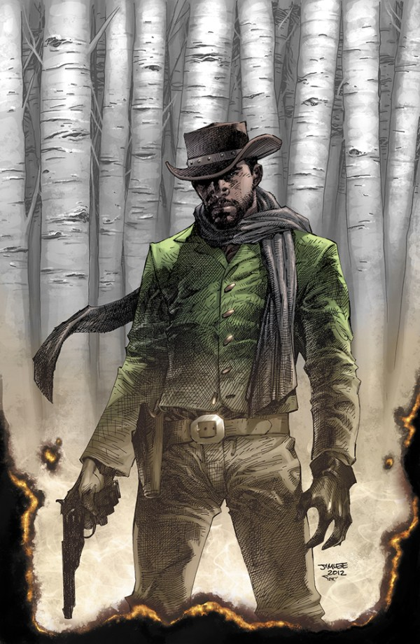 Jim Lee Variant Cover for Comic Adaptation of Quentin Tarantino's Django Unchained