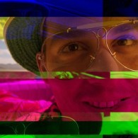 Get in! Fear and Loathing in Las Vegas Glitch Art