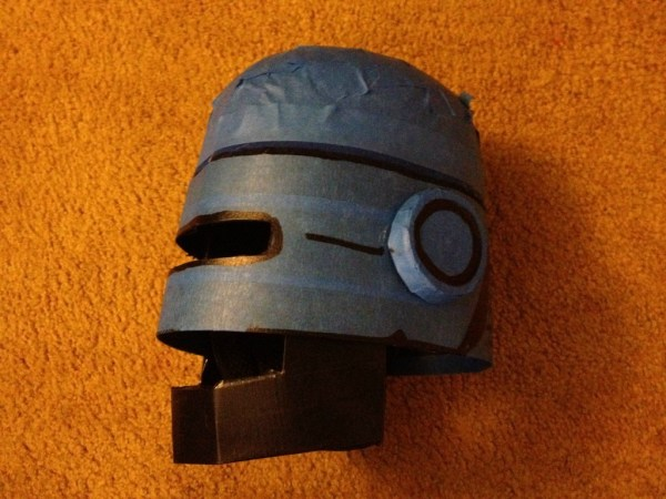 Handmade Robocop costume by Rob Schrab - Halloween
