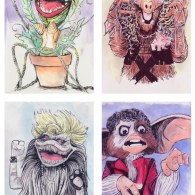 1980s Monster Mixtape: 80s Puppets x 80s Music Icons by Isaac Bidwell