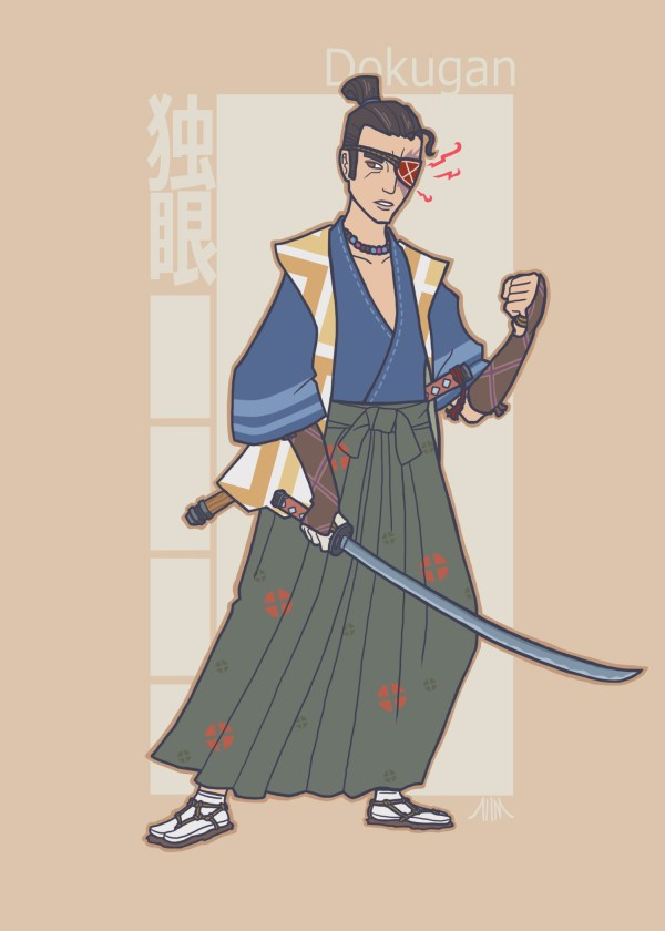 Jidaigeki X-Men - Cyclops by genesischant - Samurai Period-Drama