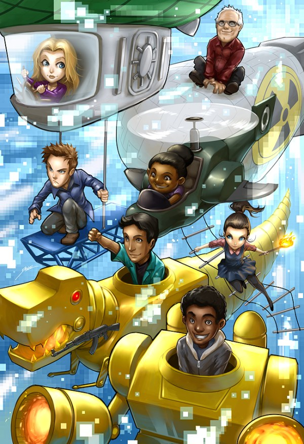 Community: Journey to the center of Hawkthorne - TV, Fanart, Troy, Abed, Video Game