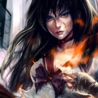 sailor_mars_by_vargasni-d5gzk5s