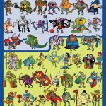 Teenage Mutant Ninja Turtle Action Figure Art Compendium
