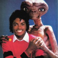 E.T. The Extra Terrestrial and Michael Jackson - audiobook, storybook, somewhere in the dark