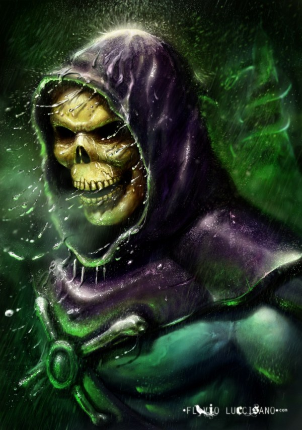 Skeletor by Flavio Luccisano - Masters of the Universe, He-Man, Fanart