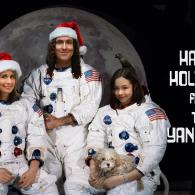 Christmas Card from Weird Al Yankovic and his Family