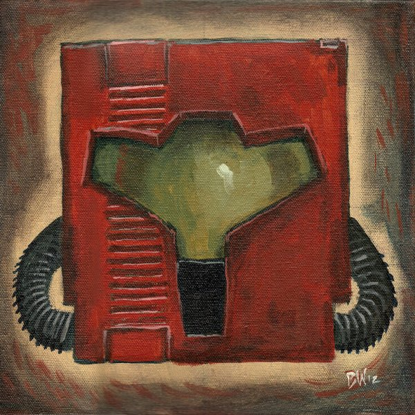 Metroid Cartridge Painting by Blake Wheeler - Samus Aran, Nintendo, Gaming, Art