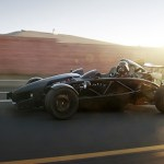 Darth Racer: Darth Vader in an Ariel Atom Sports Car
