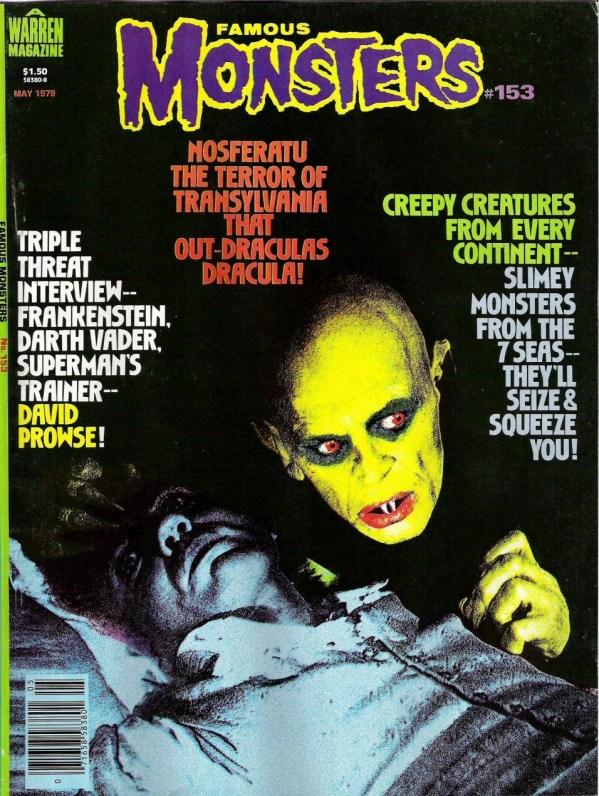 Famous Monsters of Filmland #153 - Nosferatu
