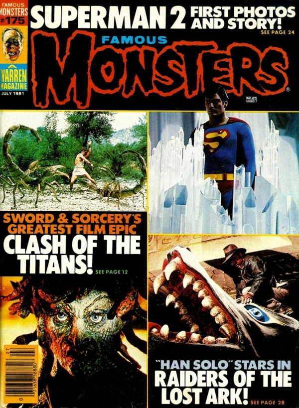 Famous Monsters of Filmland #175 - Clash of the Titans, Superman, Indiana Jones