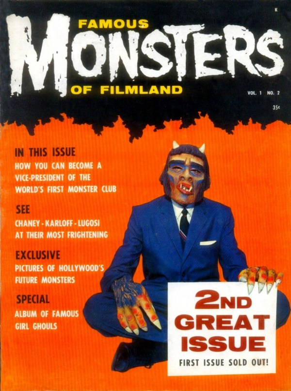 Famous Monsters of Filmland #2