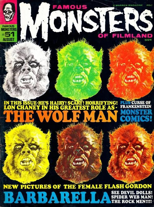 Famous Monsters of Filmland #51 - Wolfman