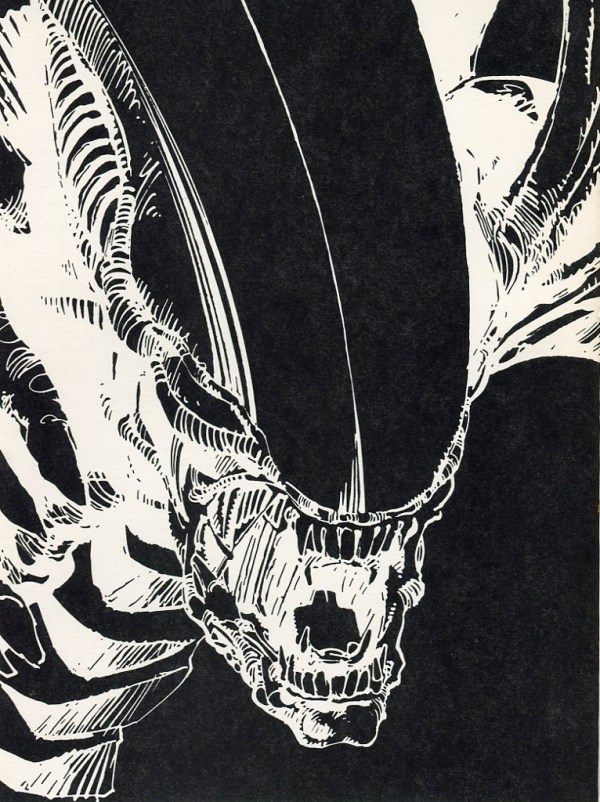 The complete Alien :The Illustrated Story by Archie Goodwin and Walter Simonson.Published by Heavy Metal comics 1979. (1)