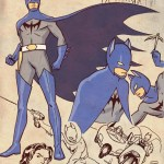 Science Ninja Hero Batman - Retro Anime Style DC Superheroes by Cliff Chiang