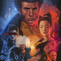 X-Men x Bladerunner Mashup Art by Jarreau Wimberly