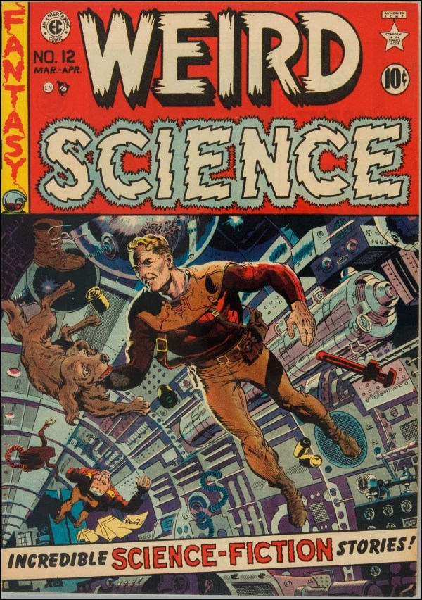Weird Science 12 Cover Art by Wally Wood