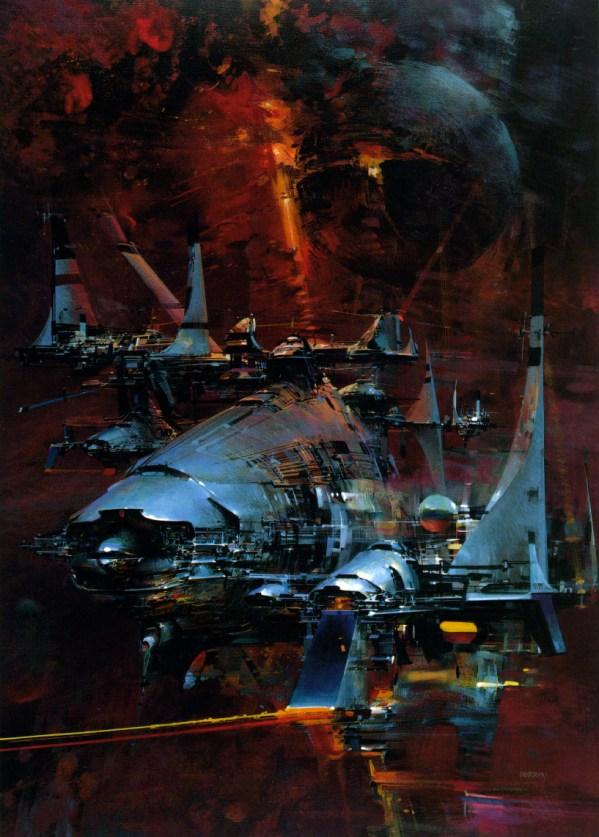 Science Fiction Illustrations by John Berkey - Sci-Fi Space Art (2)