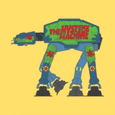 Scooby-Doo AT-AT - Mystery Machine, Star Wars