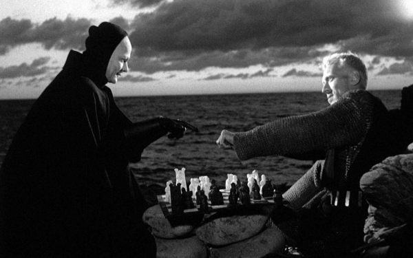 The Seventh Seal - Ingmar Bergman - Chess Match