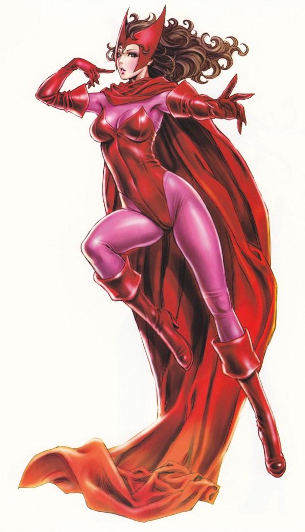 Bishoujo Style Scarlet Witch by Shunya Yamashita - Marvel Comics, Anime, Manga