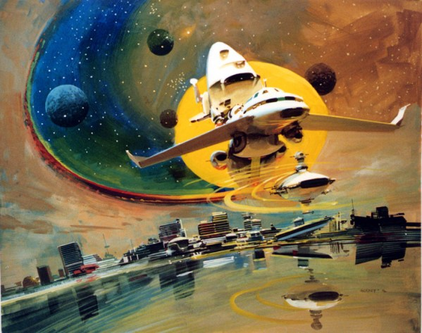 Science Fiction Illustrations by John Berkey - Sci-Fi Space Art (10)